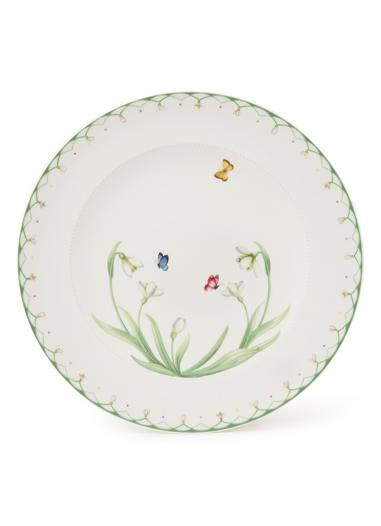 Villeroy & Boch - Colourful Spring onderbord 32 cm - Wit