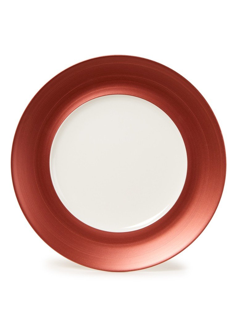 Villeroy & Boch - Manufacture Glow dinerbord 29 cm  - Lichtrood