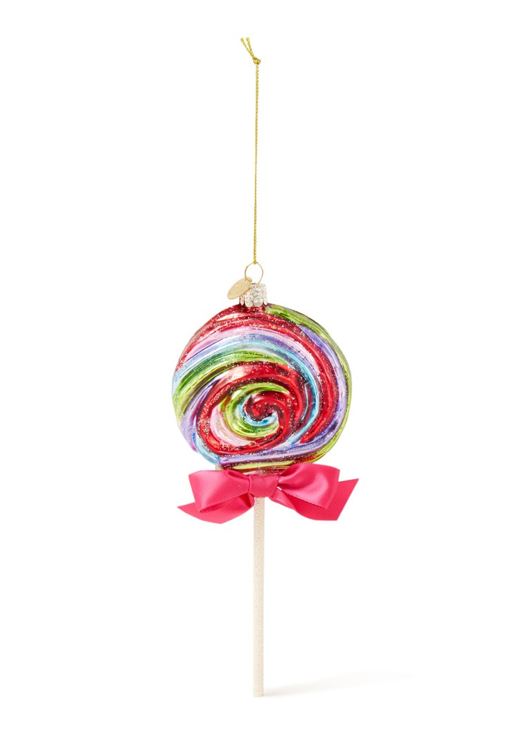 Vondels - Lolly kersthanger 21 cm - Multicolor