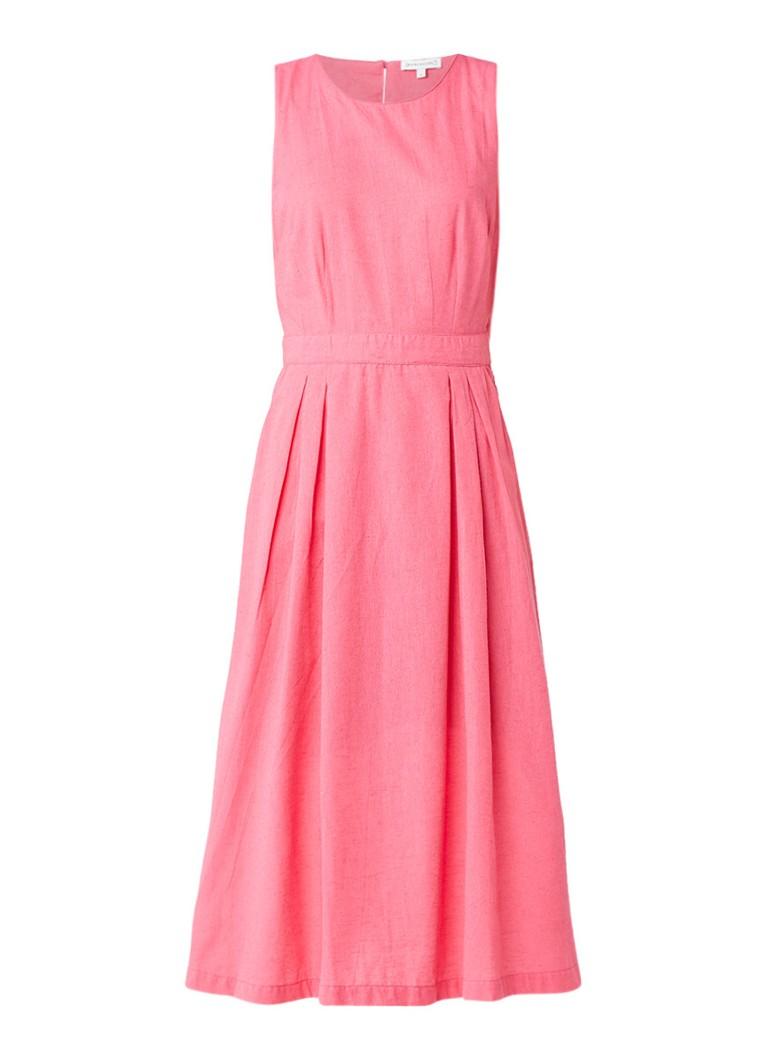 158302c3cc1573 Warehouse Midi-jurk met cut-out aan achterzijde • de Bijenkorf