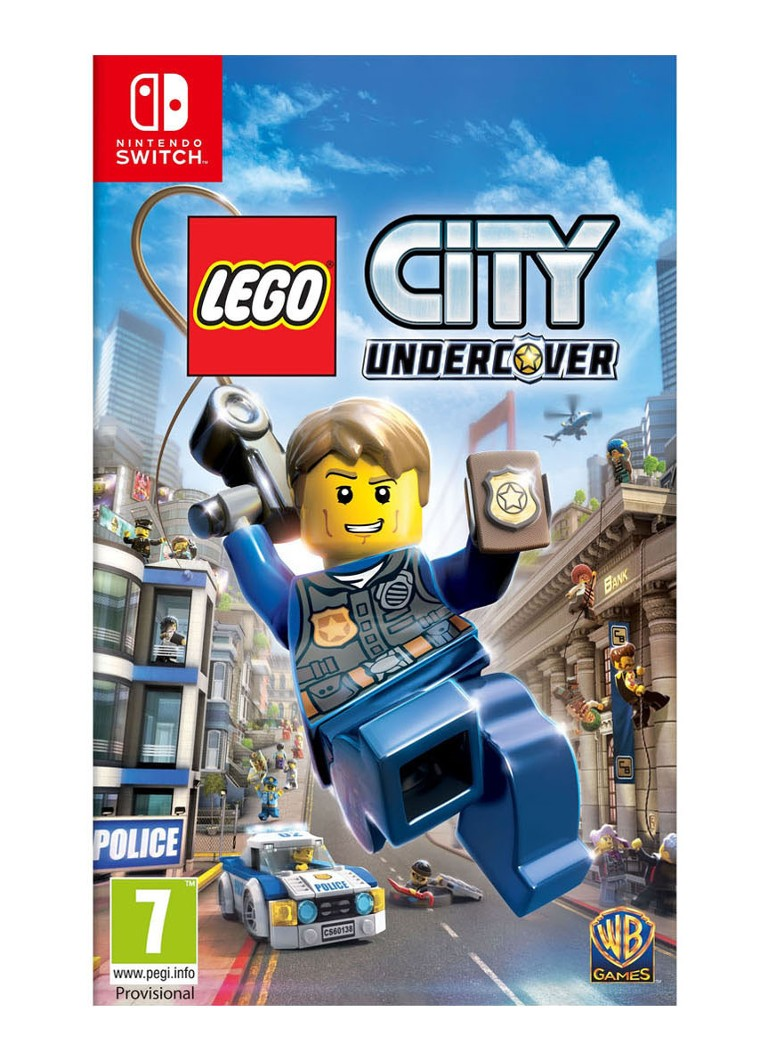 Warner Bros - LEGO City Undercover Game - Nintendo Switch - null