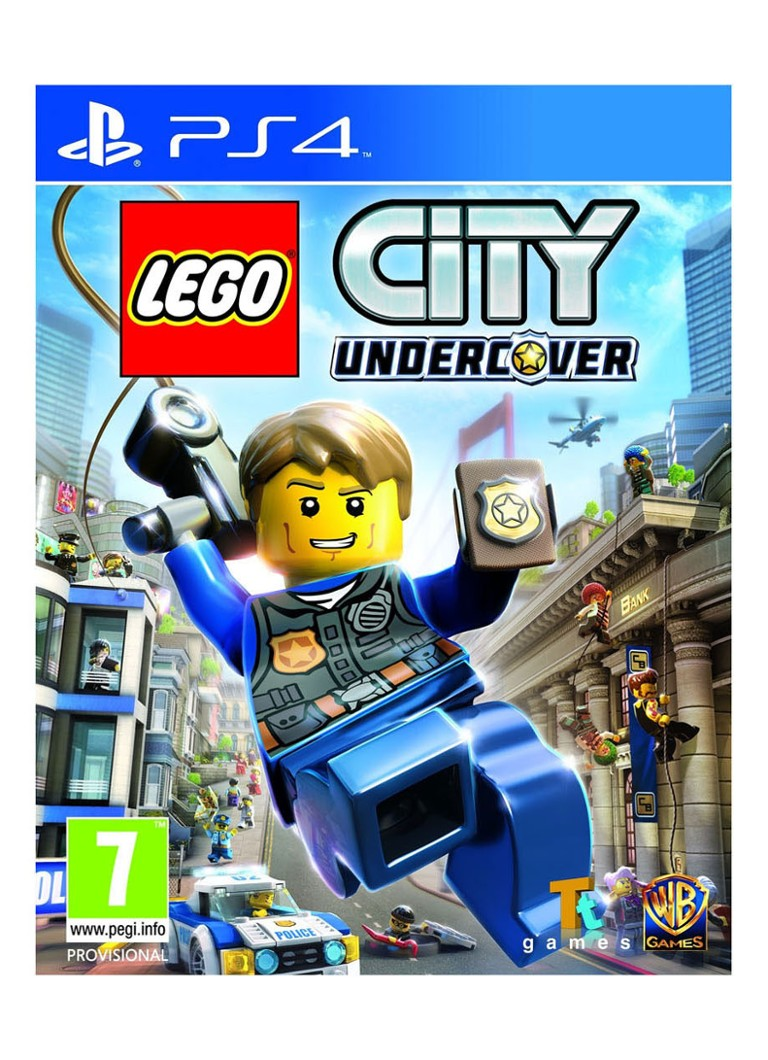 Warner Bros - LEGO City Undercover Game - PS4 - null