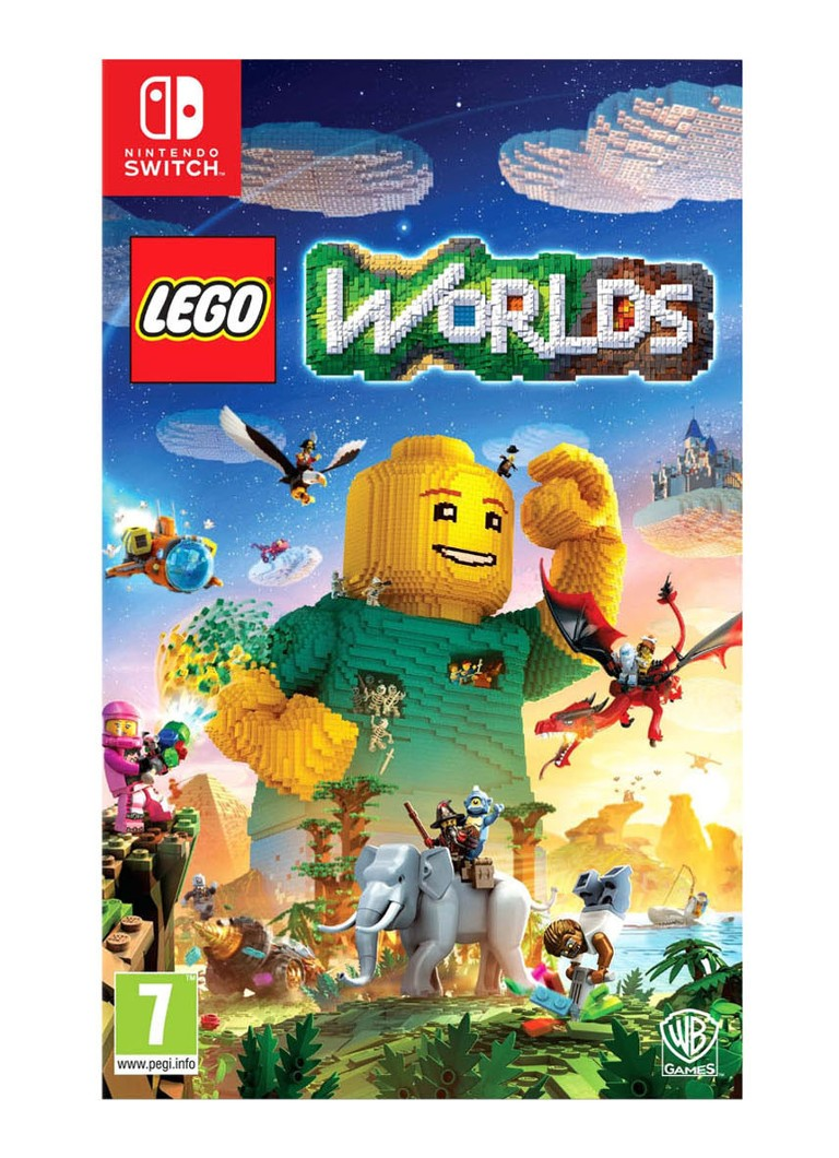 Warner Bros - LEGO Worlds Game - Nintendo Switch - null