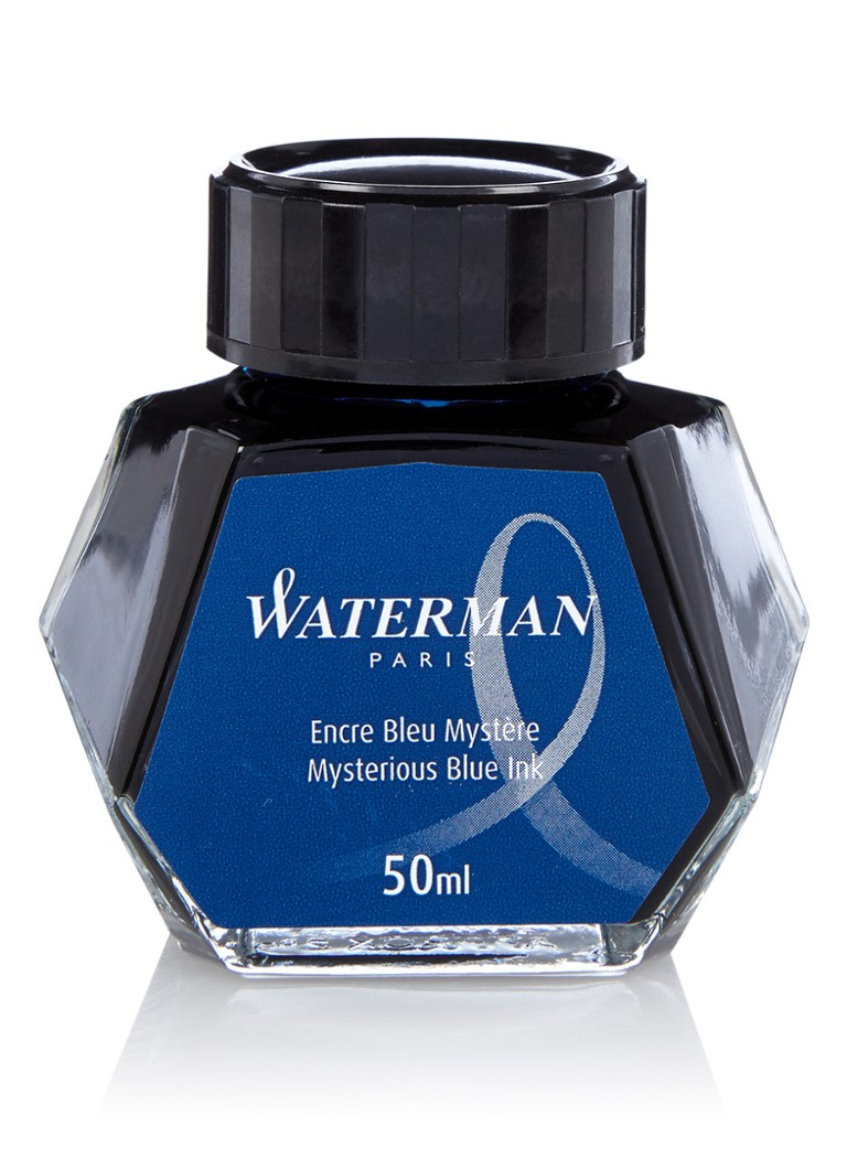 Waterman - Mysterious Blue inktpot 50 ml - Blauw