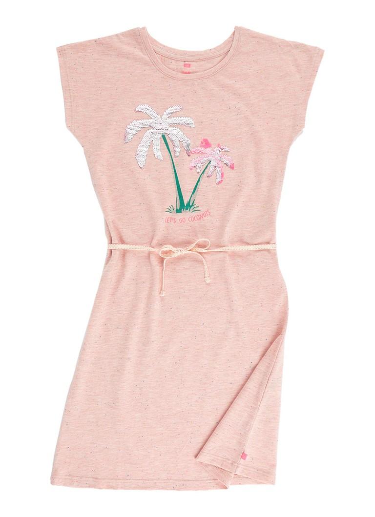 6ab36f3452dfc8 WE Fashion Lamia Magic jurk met omkeerbare pailletten • de Bijenkorf