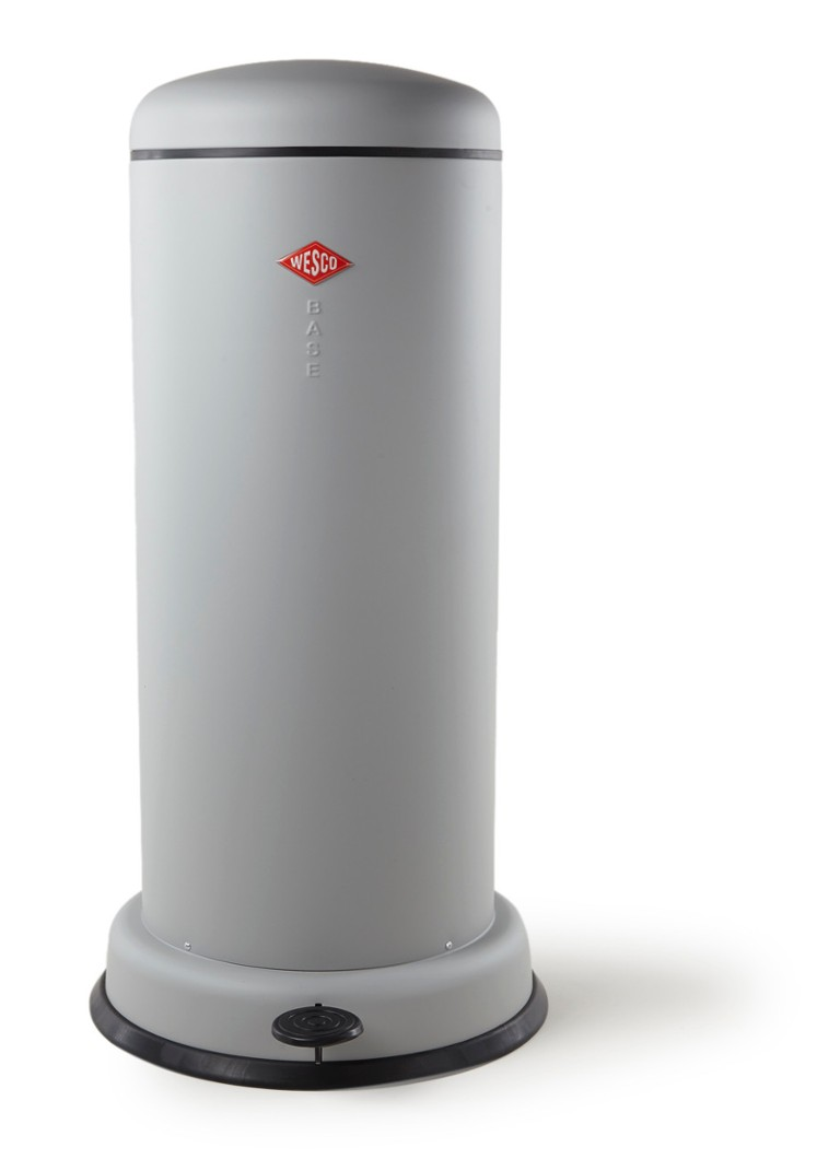 Wesco Towerkick Afvalbak 30 Liter.Wesco Baseboy Pedaalemmer 30 Liter De Bijenkorf