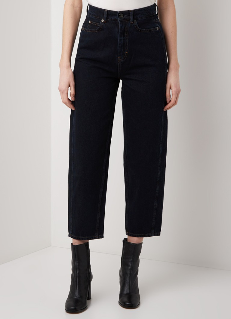 Whistles - Barrel high waist wide fit cropped jeans - Jeans