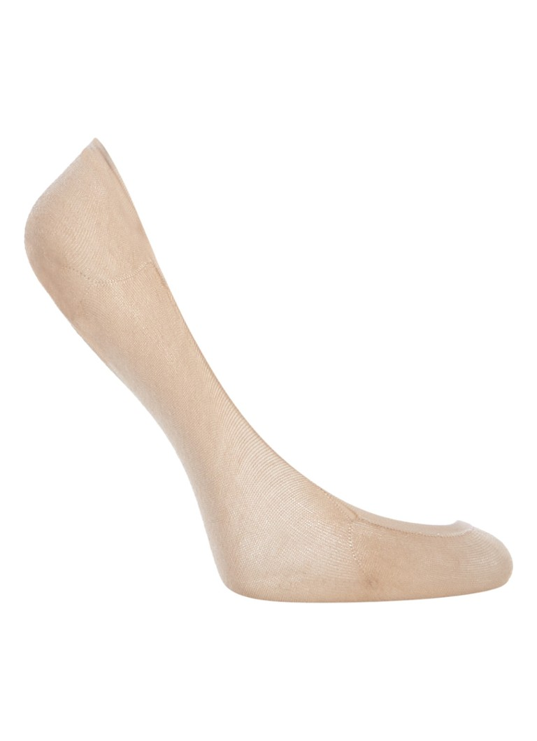 Wolford - Cotton Footsies kousenvoetjes  - Naturel