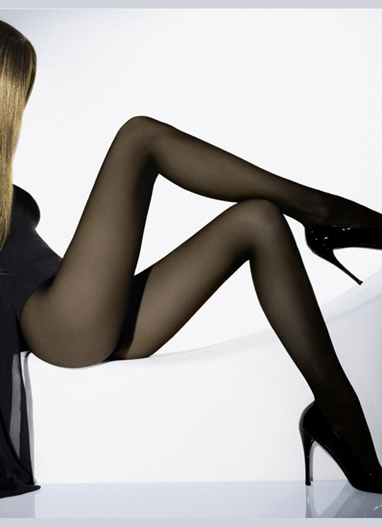 Wolford - Individual panty in 10 denier - Nearly Black - 7212