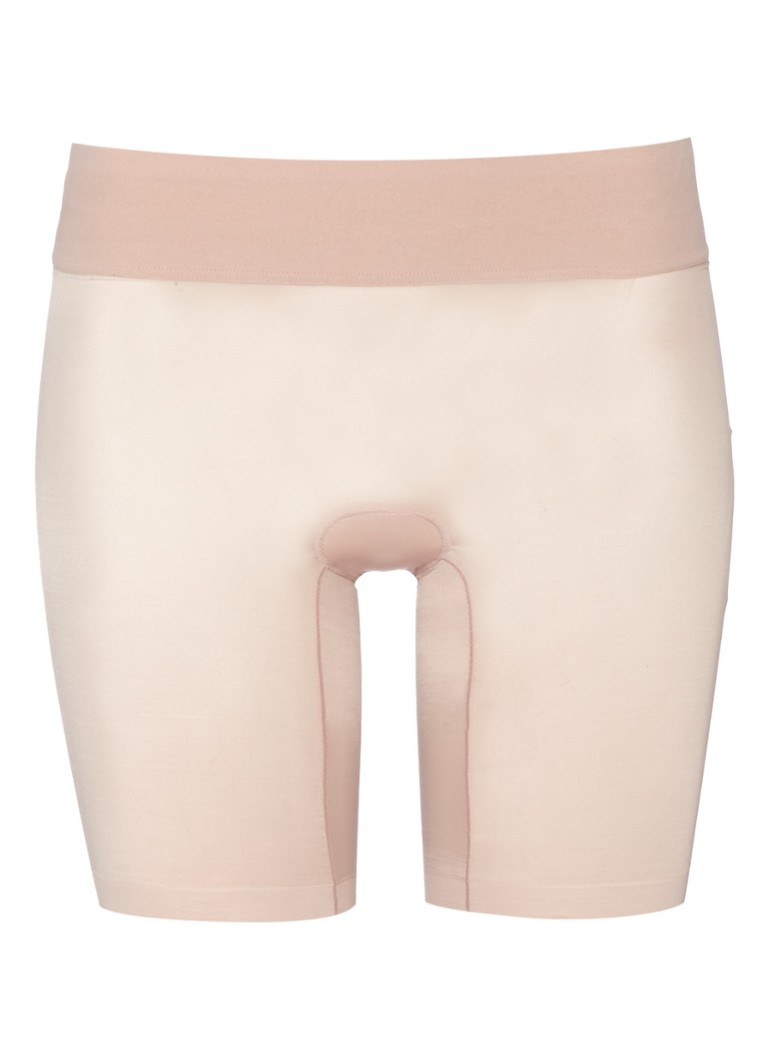 Wolford - Sheer Touch Control shorty - Lichtroze