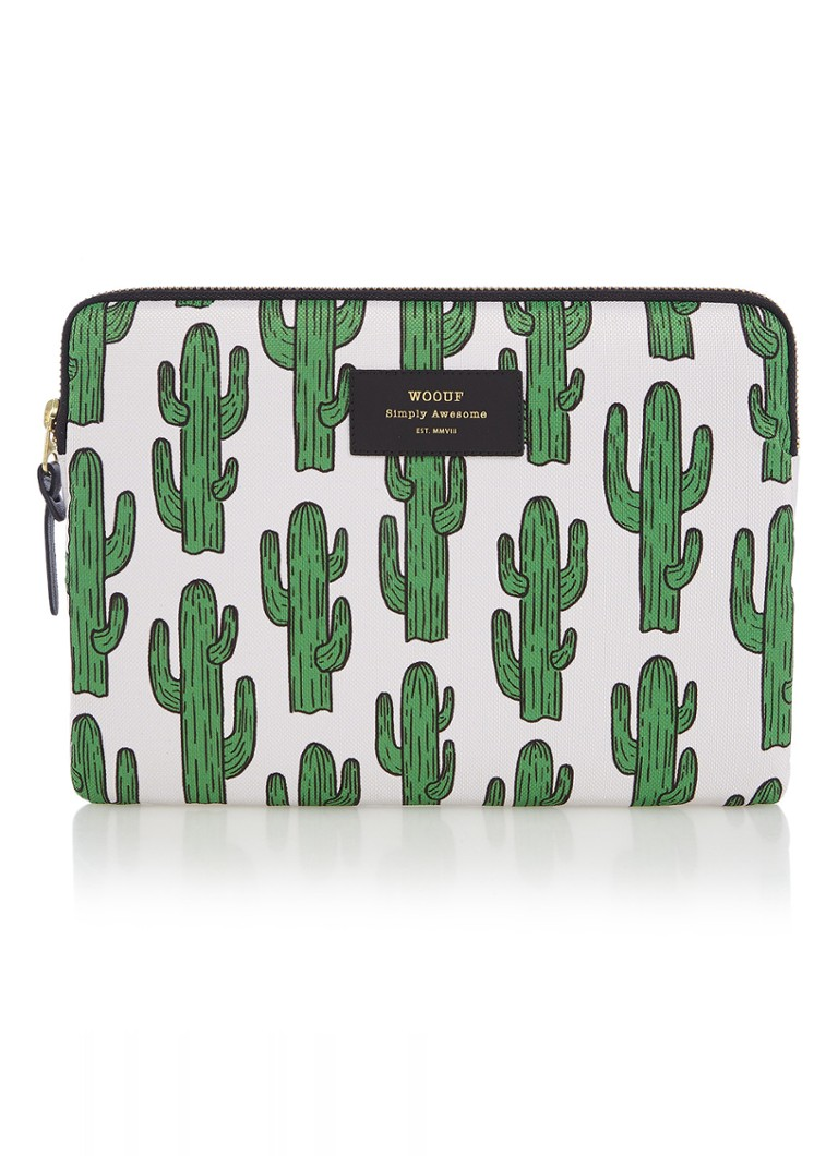 Wouf - Cactus tablethoes met dessin - Groen