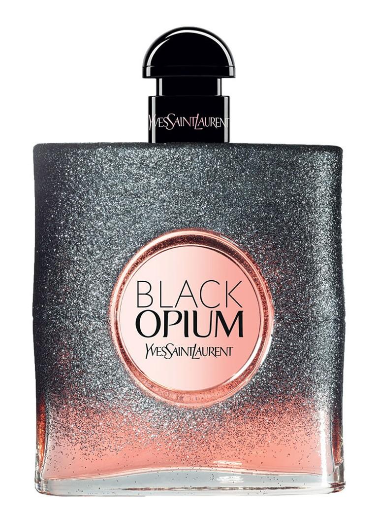 yves saint laurent black opium floral shock eau de parfum de bijenkorf. Black Bedroom Furniture Sets. Home Design Ideas
