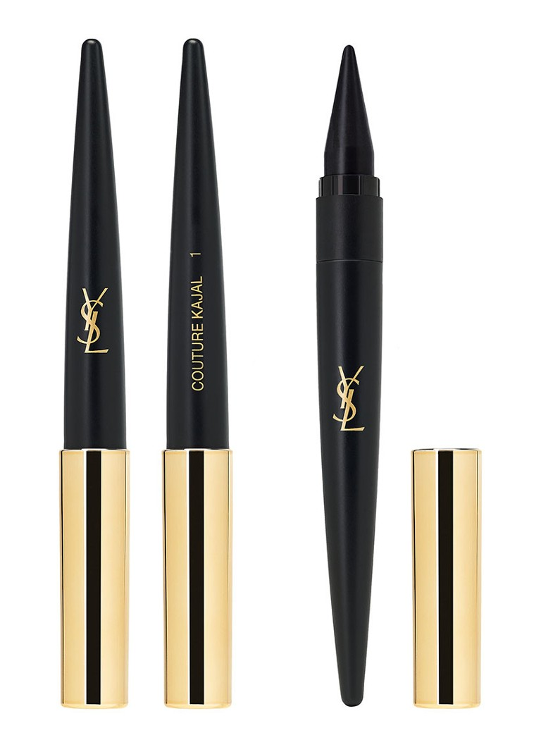 Yves Saint Laurent - Couture Kajal - 3-in-1 Khôl oogpotlood - 01 Noir Ardent