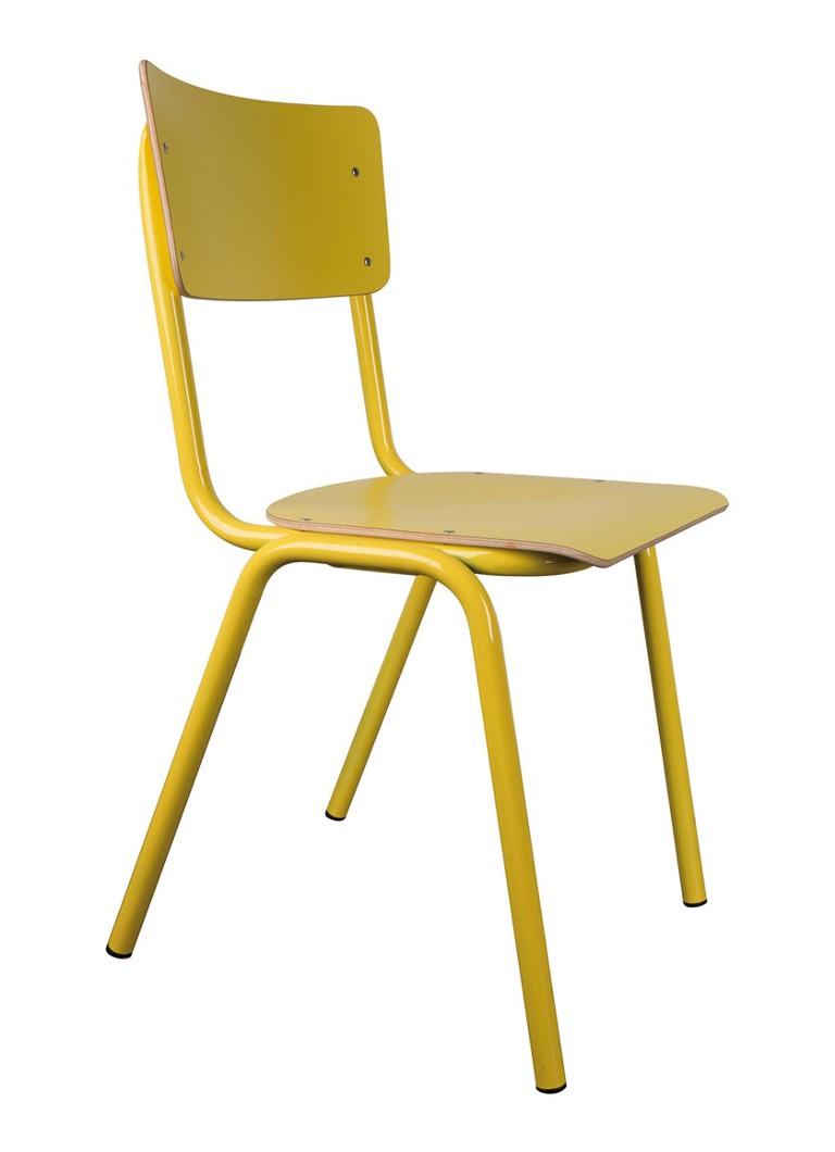 Zuiver Stoelen Rotterdam.Zuiver Back To School Stoel Geel Set Van 4 Geel De Bijenkorf