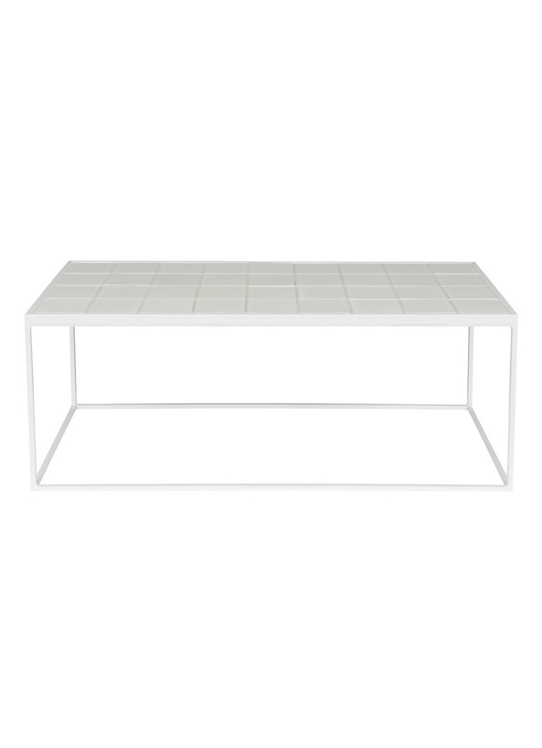Zuiver - Glazed salontafel 42x93 - Wit